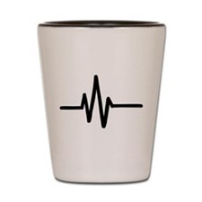 Frequency pulse beat Shot Glass