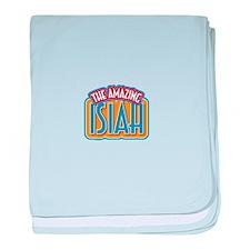 The Amazing Isiah baby blanket