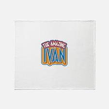 The Amazing Ivan Throw Blanket