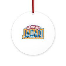 The Amazing Jabari Ornament (Round)