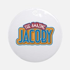 The Amazing Jacoby Ornament (Round)