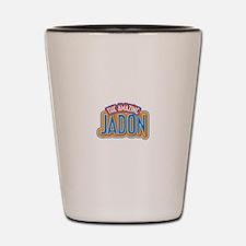 The Amazing Jadon Shot Glass