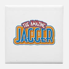 The Amazing Jagger Tile Coaster