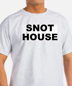 Snot House Ash Grey T-Shirt