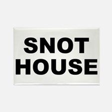 Snot House Rectangle Magnet