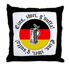 Oktoberfest Toast Throw Pillow