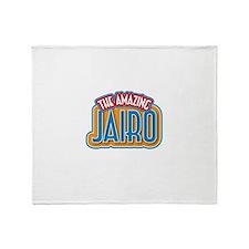 The Amazing Jairo Throw Blanket