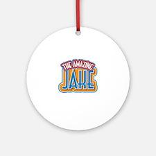 The Amazing Jake Ornament (Round)
