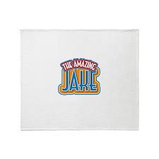 The Amazing Jake Throw Blanket