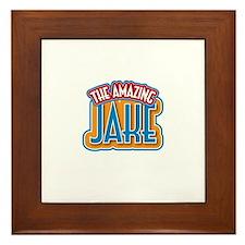 The Amazing Jake Framed Tile
