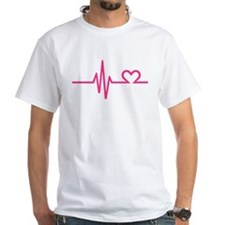 Frequency pink heart Shirt