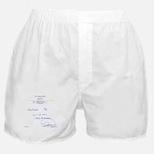 Prescription For Sanity Boxer Shorts