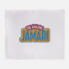 The Amazing Jamari Throw Blanket