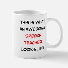 awesome speech teacher Mug
