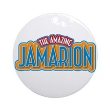 The Amazing Jamarion Ornament (Round)