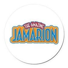 The Amazing Jamarion Round Car Magnet