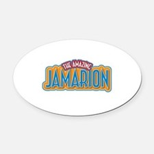 The Amazing Jamarion Oval Car Magnet