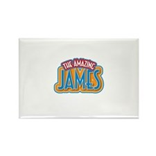 The Amazing James Rectangle Magnet