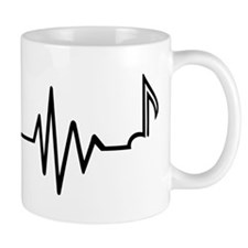 Frequency note music Mug