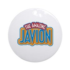 The Amazing Javion Ornament (Round)