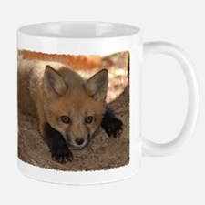 Red fox kit Mug