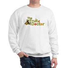 The Fruit Doctor black Sweatshirt