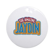 The Amazing Jaydin Ornament (Round)