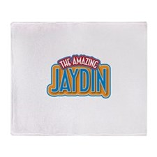 The Amazing Jaydin Throw Blanket