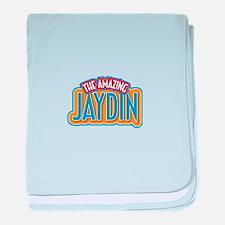 The Amazing Jaydin baby blanket