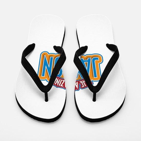 The Amazing Jaydon Flip Flops