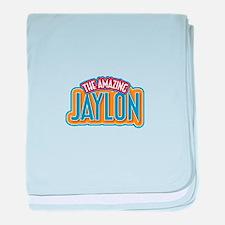 The Amazing Jaylon baby blanket