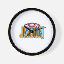 The Amazing Jayson Wall Clock