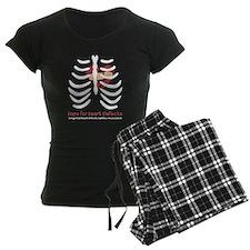 mended heart ribcage Pajamas