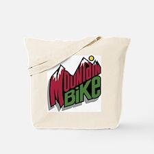 Mountain Bike Tote Bag
