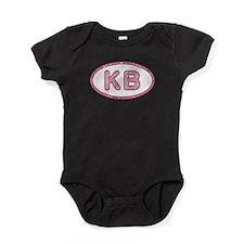KB Pink Baby Bodysuit