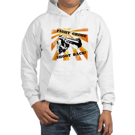 Fight Crime Hooded Sweatshirt