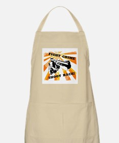 Fight Crime BBQ Apron