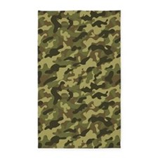 Army Camouflage 3x5 Area Rug
