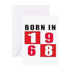 Born In 1968 Greeting Card