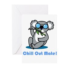 Chill Out Mate! Greeting Cards (Pk of 10)