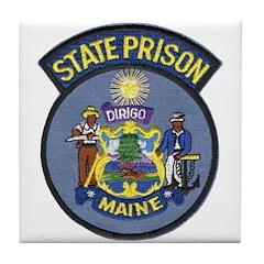 Maine State Prison Tile Coaster