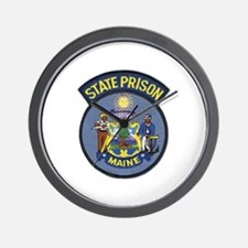 Maine State Prison Wall Clock
