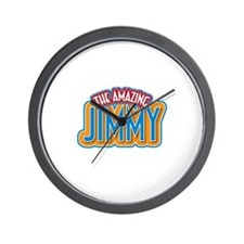 The Amazing Jimmy Wall Clock