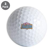 The Amazing Joaquin Golf Ball