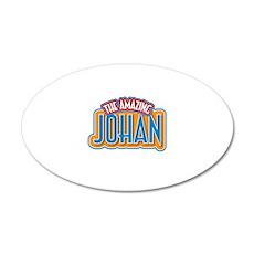 The Amazing Johan Wall Decal