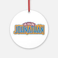 The Amazing Johnathan Ornament (Round)