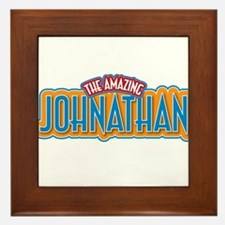 The Amazing Johnathan Framed Tile