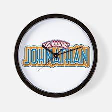 The Amazing Johnathan Wall Clock