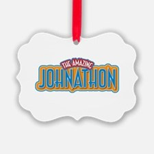 The Amazing Johnathon Ornament