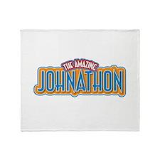 The Amazing Johnathon Throw Blanket